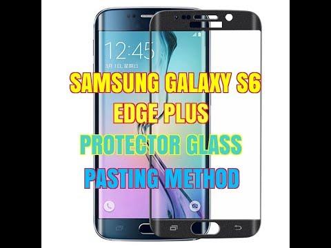SAMSUNG GALAXY S6 EDGE PLUS PROTECTOR GLASS INSTALLATION METHOD 2018 USA MOBILE REPAIRING