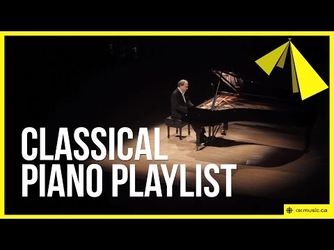 Classical piano playlist for studying, focusing or relaxing, f. Mozart, Beethoven and Bach