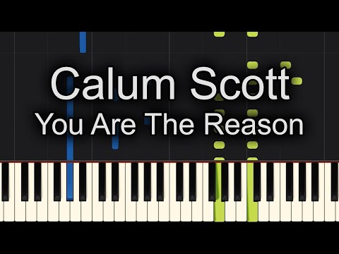 You Are The Reason Piano Cover + Sheet Music Available!!