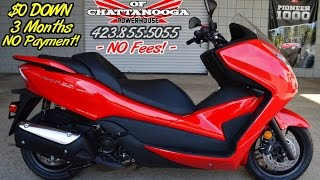 7. Honda Forza 300 Scooter Review of Specs - SALE Prices @ Honda of Chattanooga TN Dealer