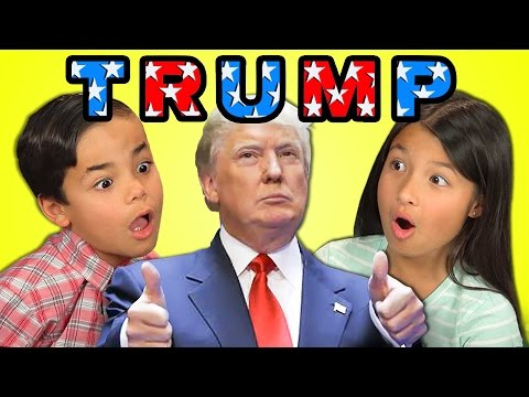 Watch These Kids React to Donald Trump