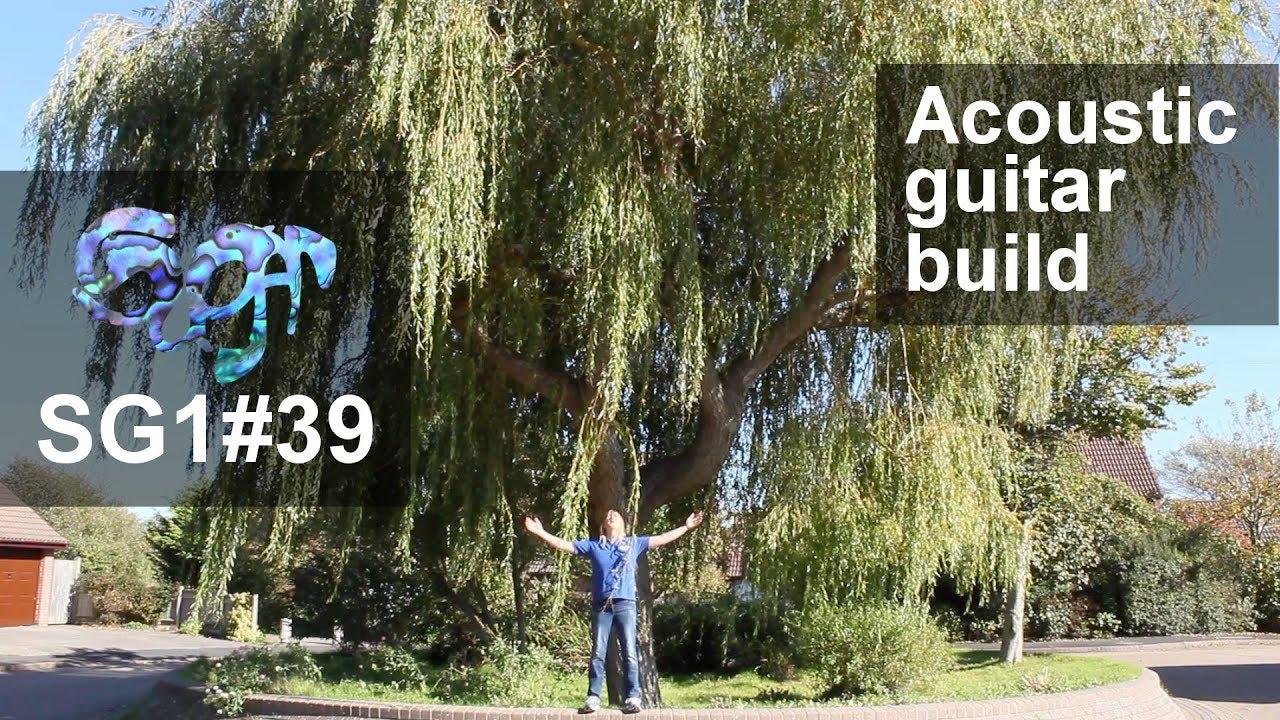 SuGar SG1 acoustic guitar build part 39: Willow linings