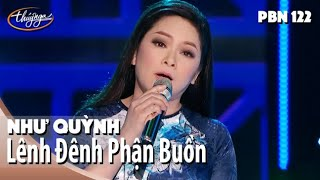 Download Lagu Như Quỳnh - Lênh Đênh Phận Buồn (Thái Thịnh) PBN 122 Mp3