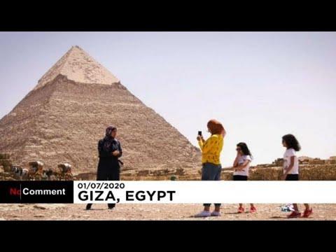 Αίγυπτος: Ξανάρχισαν οι διεθνείς πτήσεις, άνοιξε ο αρχαιολογικός χώρος της Γκίζας…