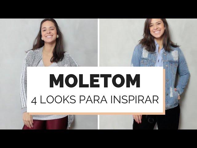 4 LOOKS COM MOLETOM PARA ESSE INVERNO 2018 | MARI FLOR - Closet da Mari