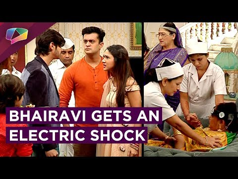 Sameer Blames Simar For Bhairavi's Electric Shoc