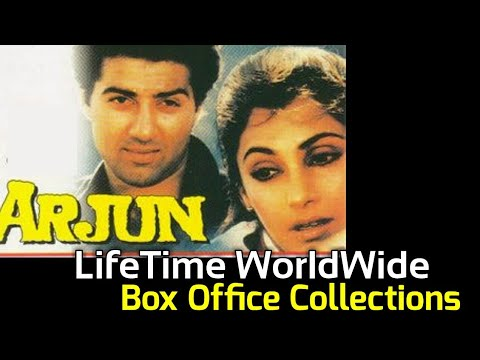 Sunny Deol ARJUN 1985 Bollywood Movie LifeTime WorldWide Box Office Collections Verdict Hit Or Flop
