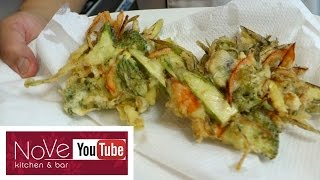 Kakiage Roll - How To Make Sushi Series (Vegetarian) by Diaries of a Master Sushi Chef