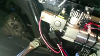 10. 04 Harley touring air ride install
