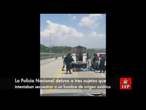 Policías frustran secuestro en el Puente de las Américas