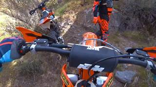 9. Satans Crack Continued on KTM 250 XC