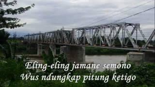 ING PINGGIR BENGAWAN SORE, Mantous, Video clip: maymintaraga
