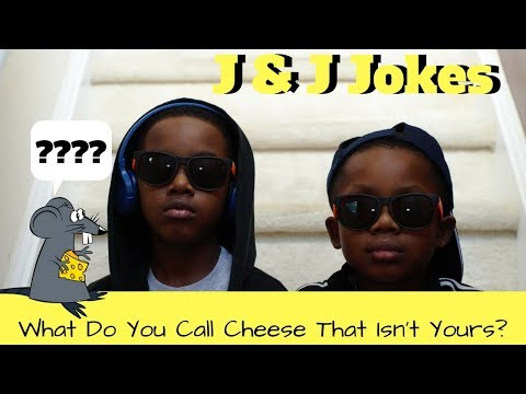 J & J Jokes For Kids :  What Do You Call Cheese That Isn't Yours?