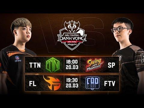 TTN vs SP I FL vs FTV - Vòng 6 Ngày 1 - Đấu Trường Danh Vọng Mùa Xuân 2019 - Thời lượng: 2:59:09.