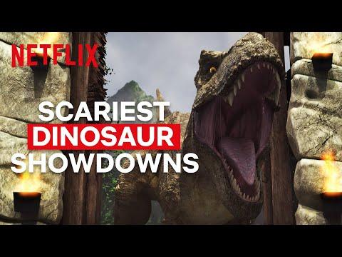 Scariest Showdowns in Jurassic World Camp Cretaceous   Netflix Futures