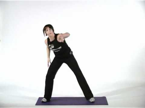 aerobic - Join world-renowned fitness presenter Jo Parry in this quick aerobic warm up workout! Either follow the whole series of Ten Minute videos for a full workout,...