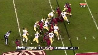 Harrison Smith vs Stanford 2011