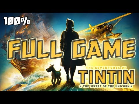 The Adventures of Tintin FULL GAME 100% Longplay (PS3, X360, Wii)