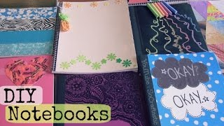 DIY Notebooks - TFIOS, Chalkboard, Magazine, Crayon Wrappers, Duct Tape & More! ♥ Back To School - YouTube