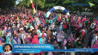 10.000 Peserta Meriahkan Fun Bike/Walk Aceh Tamiang