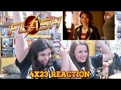 "THE FLASH 4X23 ""WE ARE THE FLASH"" REACTION"