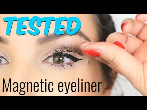 Magnetic Eyeliner - Is it functional? | BN REVIEWS
