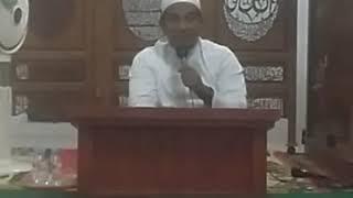 Pengajian Di Mesjid Al-Falah Desa Sebamban Baru  Kec    : Sungai loban Kitab : Sarah Sittin karangan
