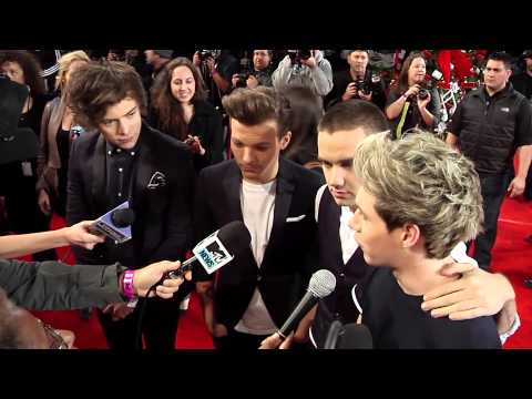 "One Direction Talks World Tour & ""Kiss You"" Music Video"