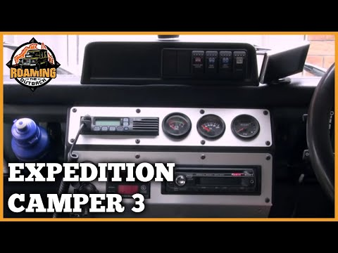 Land Rover Defender Expedition Camper Upgrade Part 3