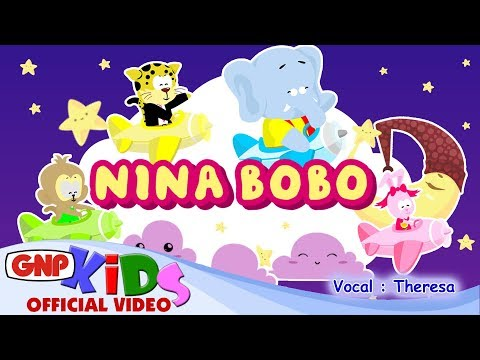 Download Lagu Nina Bobo - Lagu Anak Indonesia Versi Animasi (vokal : Theresa) Music Video