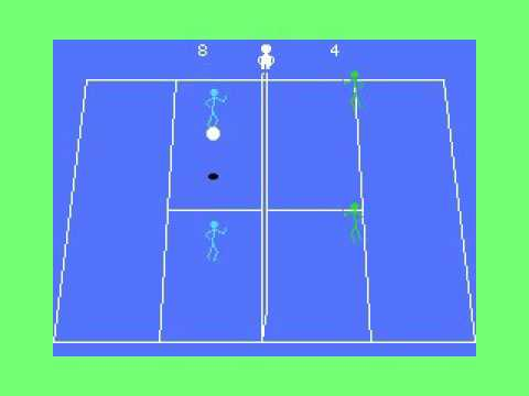 Pass Ball (1983, MSX, ASCII Corporation)