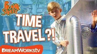 Kid from the Future Time Travel Prank | PRANK STREET