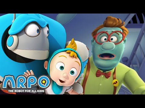ARPO The Robot For All Kids - Runs For Your Life | Full Episode | Cartoon for Kids