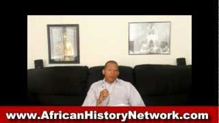 Prof. Manu Ampim On The African History Network Show - 8pm, 7-5-12