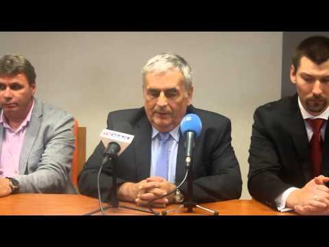 Konferencja prasowa Energa AZS Koszalin cz.1Nowy prezes