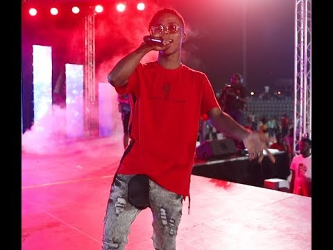 Lyta, Rapsouldy & Demmie Vee energetic performance at Small Doctor's Omo Better Concert in Agege