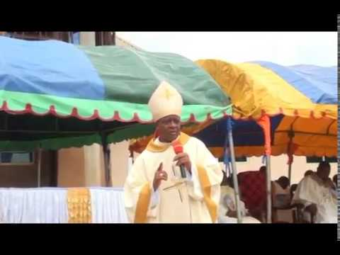 Bishop Onah's Homily At Abbi During Installation Of Blessed Sacrament 2018