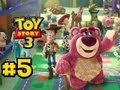 Toy Story 3 The Video game Part 5 Sunnyside hd Gameplay