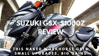 6. Review Suzuki GSX S1000Z 2018