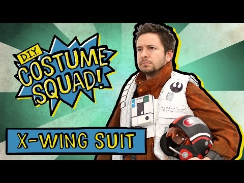 Make Poe Dameron's X-Wing Suit - DIY Costume Squad