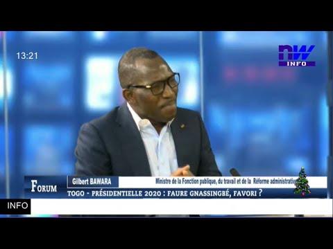 TOGO - Présidentielle 2020 : FAURE GNASSINGBE , favori ? (FORUM 26 01 2020 P1)