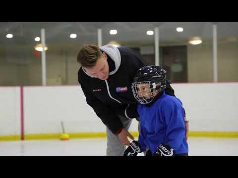 Тренировка для детей в Центре Хоккейного Мастерства