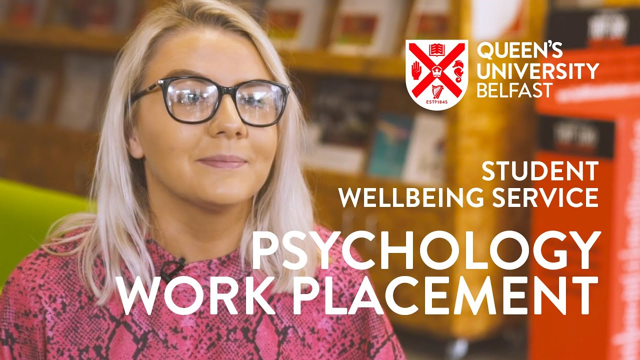 Video Thumbnail: Laura at Queen's University Belfast's Student Wellbeing Department
