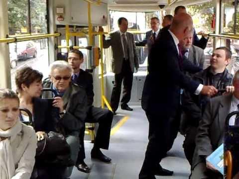 Nowy tramwaj w Grudziądzu