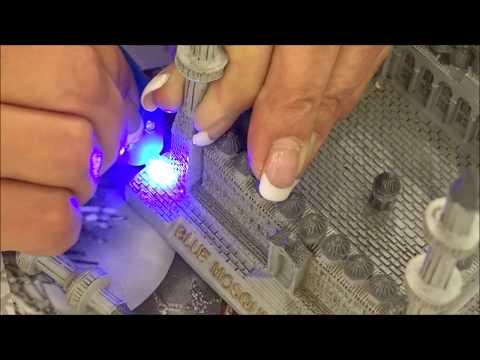 Lazer Bond Test deutsch, UV Reparaturstift, Sekundenkleber mit UV Licht