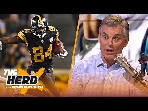 Colin Cowherd compares the Steelers to Mike Tyson, talks Panthers resume | NFL | THE HERD