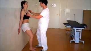 Umh1738 2013-14 Lec005 Tratamiento Dolor Cervical. De Pie Contra La Pared Y En El Centro.
