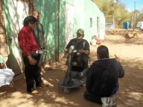 Jose Luis Receives His Electric Wheelchair