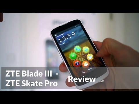 ZTE Blade 3 / Skate Pro Review (english version)