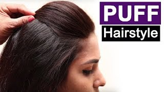 Video 5 Easy Puff Hairstyles | Everyday Hairstyles Tutorials | Quick Hairstyles for Medium Thin Hair MP3, 3GP, MP4, WEBM, AVI, FLV Agustus 2018